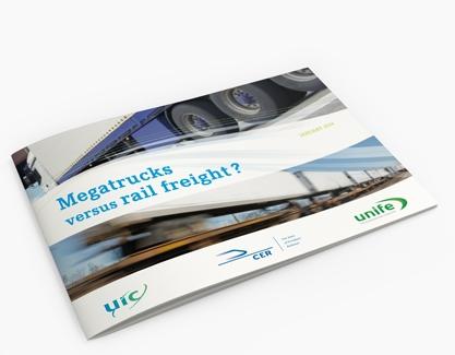 Megatrucks versus rail freight?
