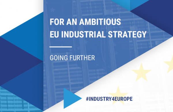 For an ambitious EU Industrial Strategy: going further