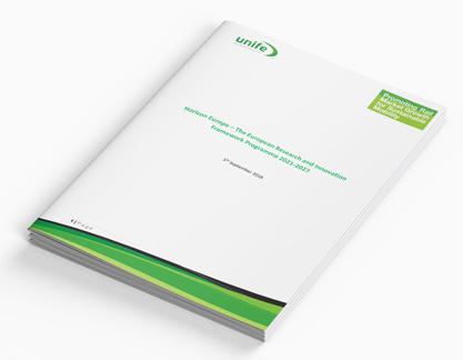 Horizon Europe – The European research and innovation framework programme 2021-2027