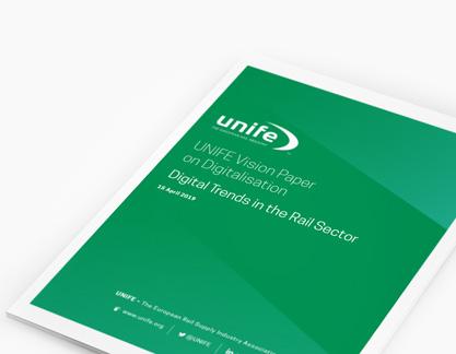 UNIFE vision paper on digitalisation