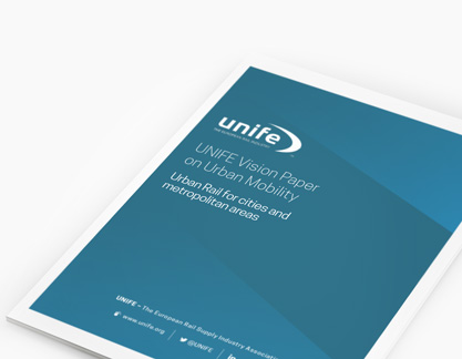 UNIFE vision paper on urban mobility