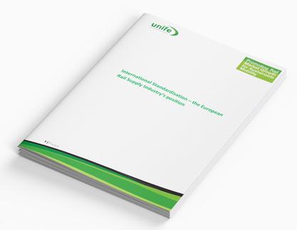 International-standardisation – the European rail supply industrys position