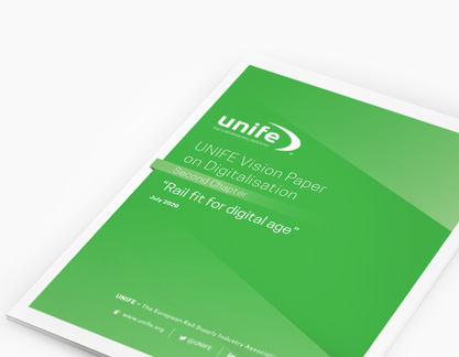 UNIFE vision paper on digitalisation – second chapter