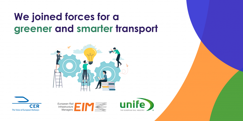 Rail Sector Joins Forecast to Contribute to Sustainable and Smart Mobility in Europe