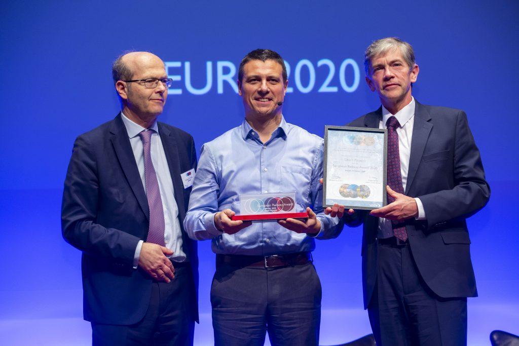 Geert Pauwels Receives European Railway Award 2020