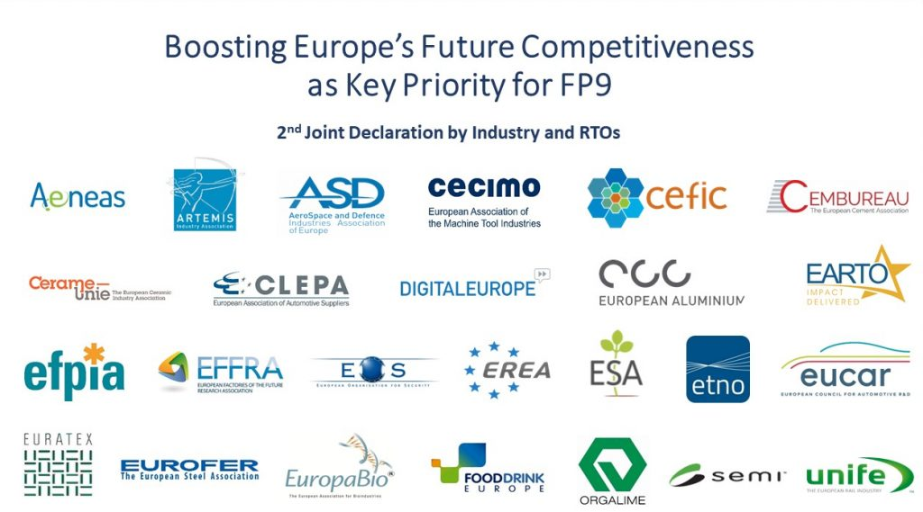 Boosting Europe's future competitivenessas key priority for FP