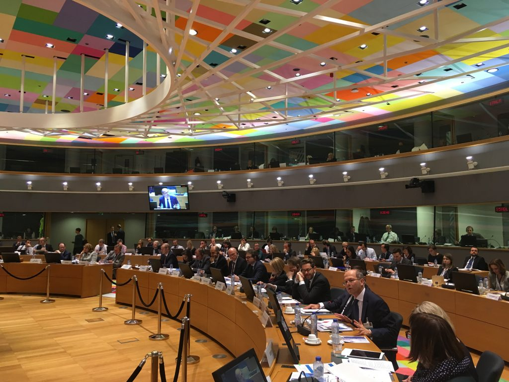 UNIFE speaks at competitiveness council of ministers