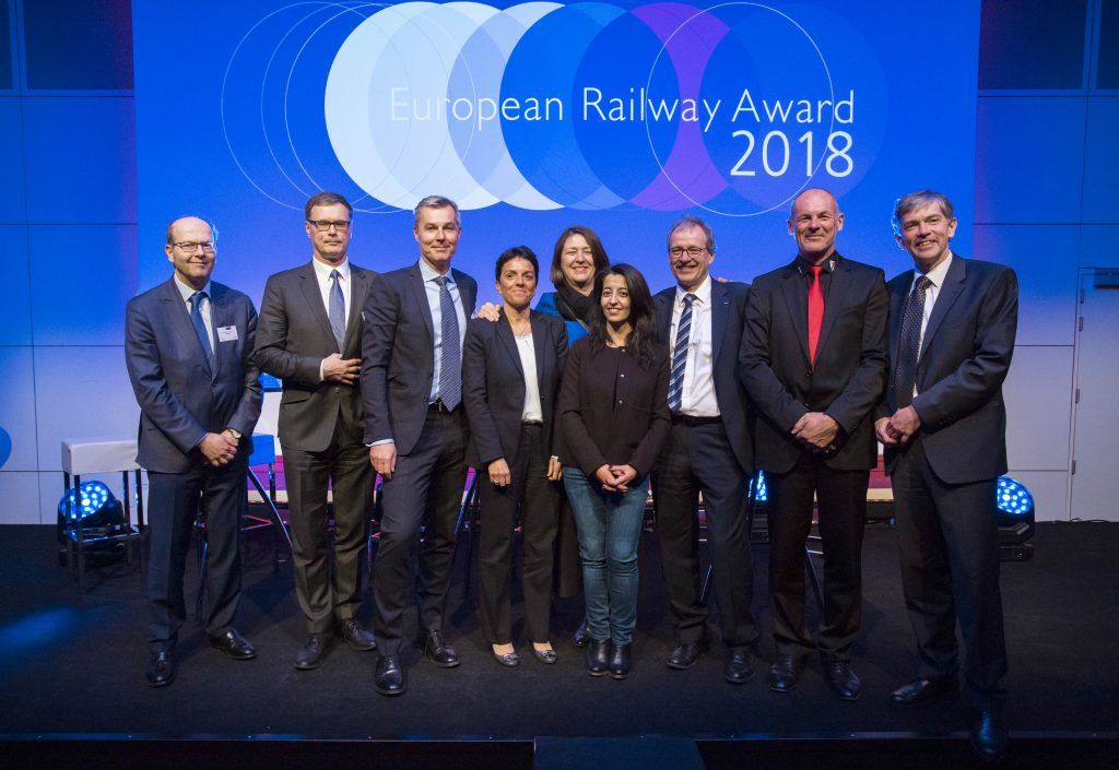 The Gotthard Base Tunnel Project wins the 2018 European Railway Award