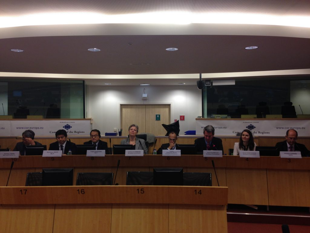 FIFTH EU-JAPAN INDUSTRIAL DIALOGUE ON RAILWAYS: GREAT INTEREST ON BOTH SIDES, BUT CONCRETE RESULTS NEEDED
