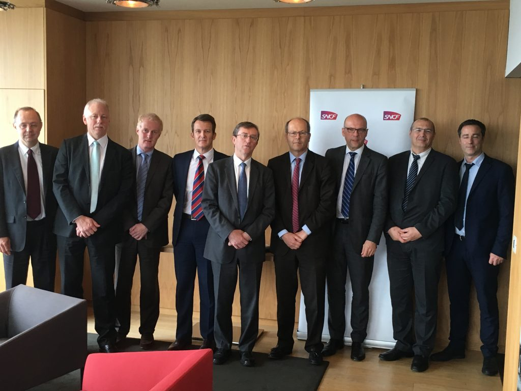 UNIFE SIGNS MOU WITH SNCF ON IRIS