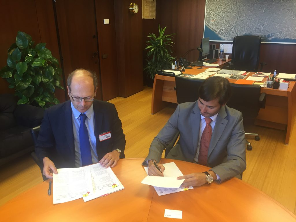 FIRST MOU ON IRIS SIGNED WITH PUBLIC TRANSPORT OPERATOR FMB