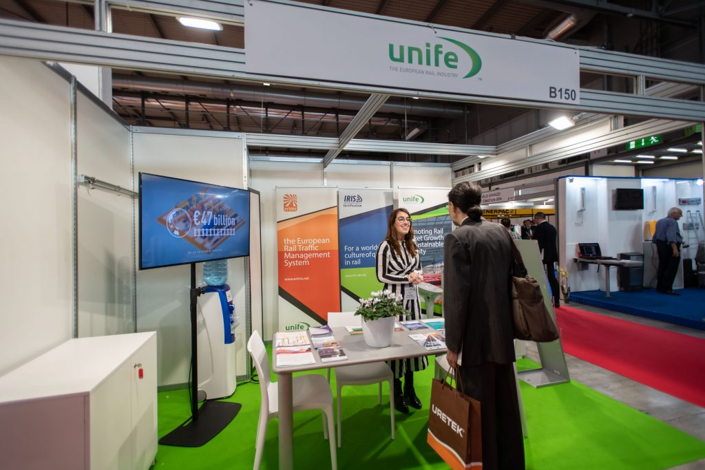 UNIFE promoted rail quality at Expo Ferroviaria 2019