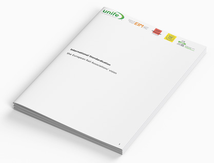 International Standardisation the European Rail Associations' Vision