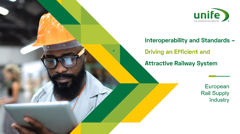 Interoperability and Standards – Driving an Efficient and Attractive Railway System