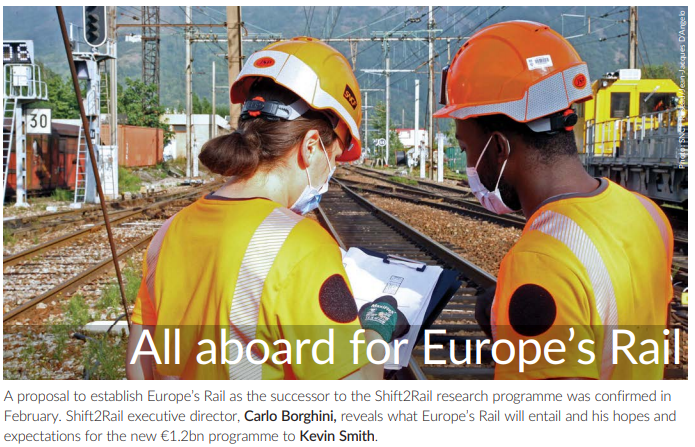 All aboard for Europe's Rail (IRJ)