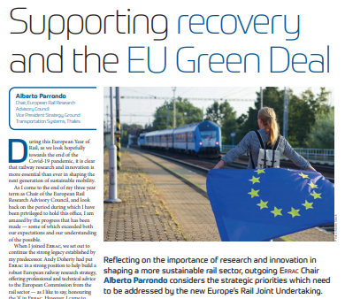 Training & Skills: Supporting recovery and the EU Green Deal (Railway Gazette)