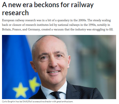 A new era beckons for railway research (IRJ)