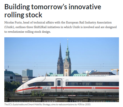Building tomorrow's innovative rolling stock (IRJ)