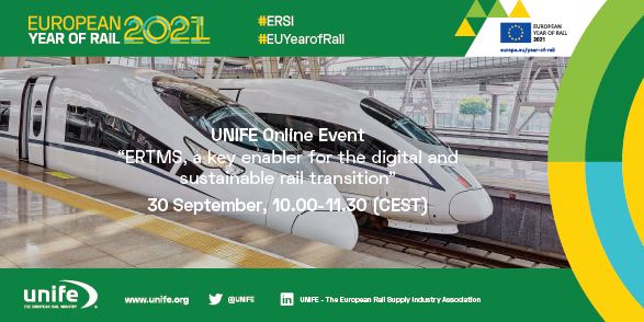 ERTMS, a key enabler for the digital and sustainable rail transition